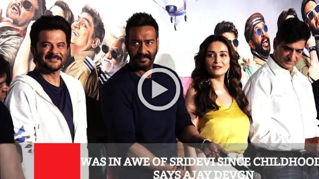 Was In Awe Of Sridevi Since Childhood, Says Ajay Devgn