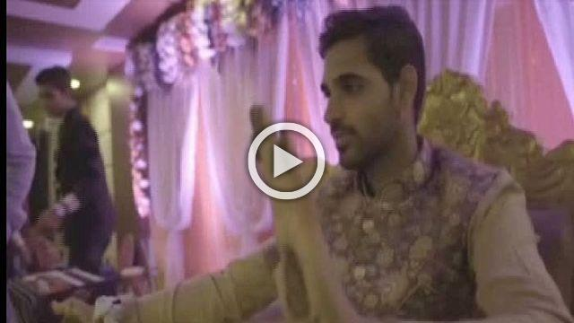 Watch Bhuvneshwar Kumar's Mehendi Ceremony