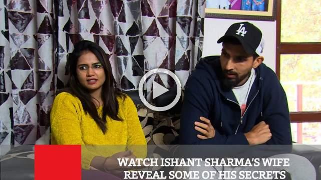 Watch Ishant Sharma's Wife Reveal Some Of His Secrets