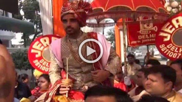 Watch The First Visuals Of Bhuvneshwar Kumar's Wedding