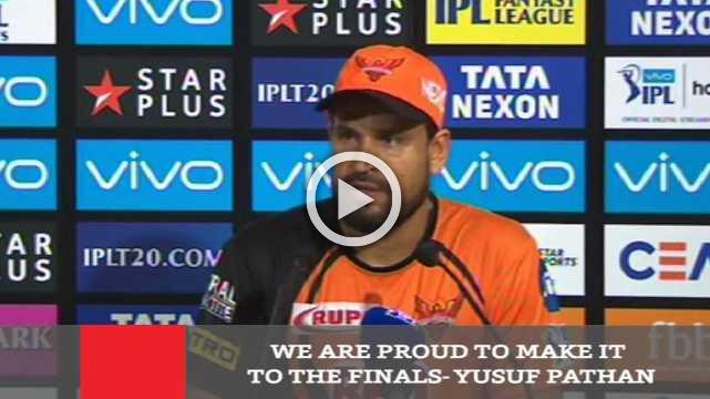 We Are Proud To Make It To The Finals : Yusuf Pathan