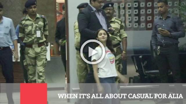 When It's All About Casual For Alia
