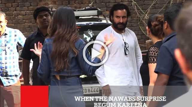 When The Nawabs Surprise Begum Kareena