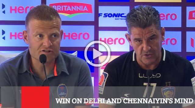 Win On Delhi And Chennaiyin's Mind