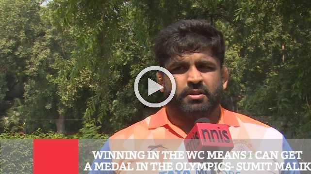 Winning In The Wc Means I Can Get A Medal In The Olympics- Sumit Malik