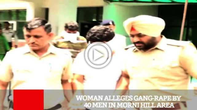 Woman Alleges Gang Rape By 40 Men In Morni Hill Area