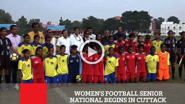 Women's Football Senior National Begins In Cuttack