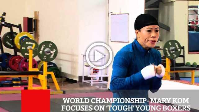 World Championship- Mary Kom Focuses On 'Tough' Young Boxers
