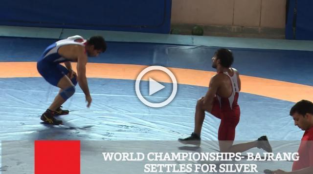 World Championships- Bajrang Settles For Silver