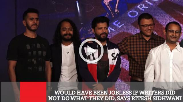 Would Have Been Jobless If Writers Did Not Do What They Did, Says Producer Ritesh Sidhwani