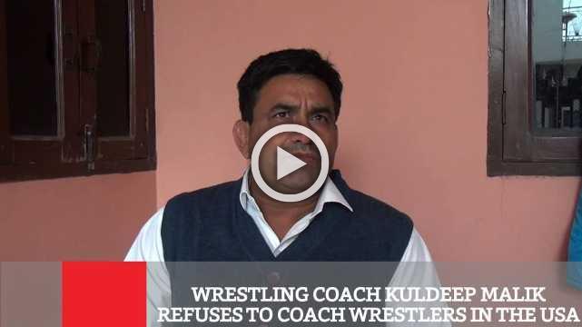 Wrestling Coach Kuldeep Malik Refuses To Coach Wrestlers In The USA