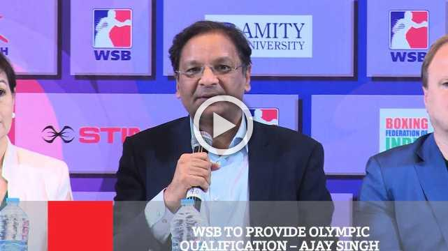 WSB To Provide Olympic Qualification – Ajay Singh