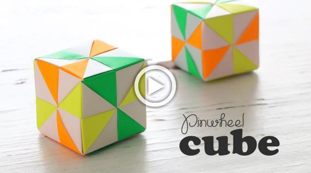 DIY Pinwheel Cube