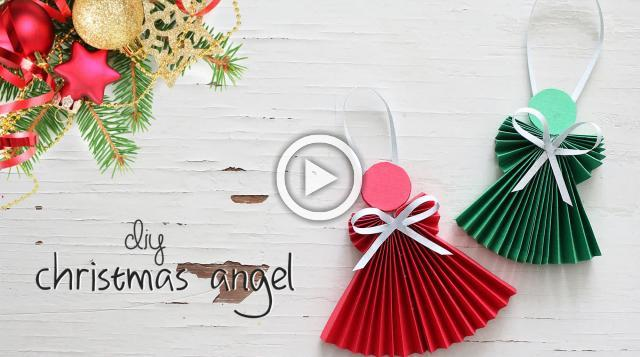 DIY Christmas Angels