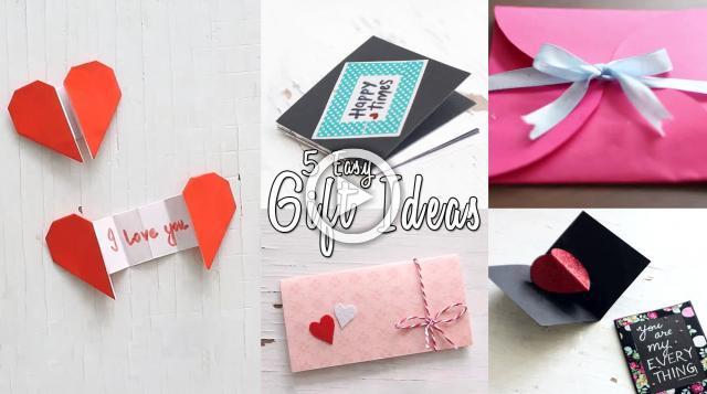 5 Easy Gift Ideas