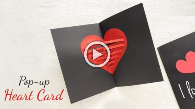 Pop - up Heart Card
