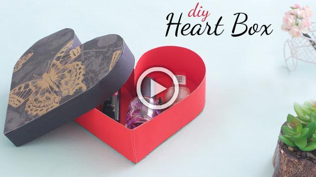DIY Heart Box