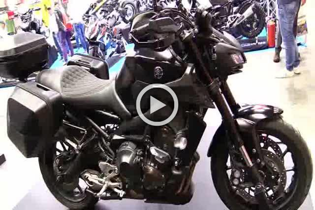 Yamaha MT09 SW Motech Accessorized Walkaround Part II