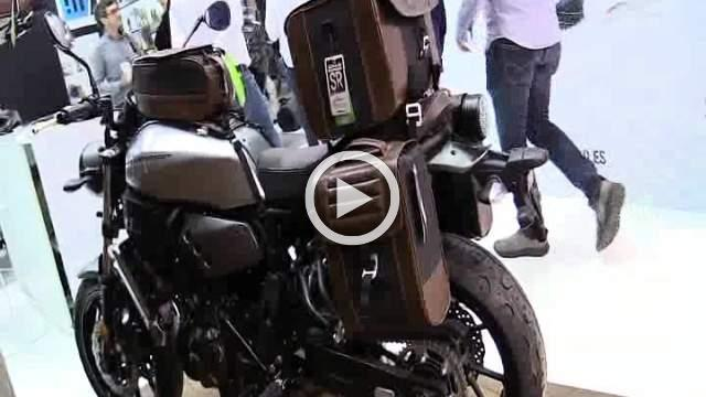 Yamaha XSR 700 Shad SR Walkaround Exhibition
