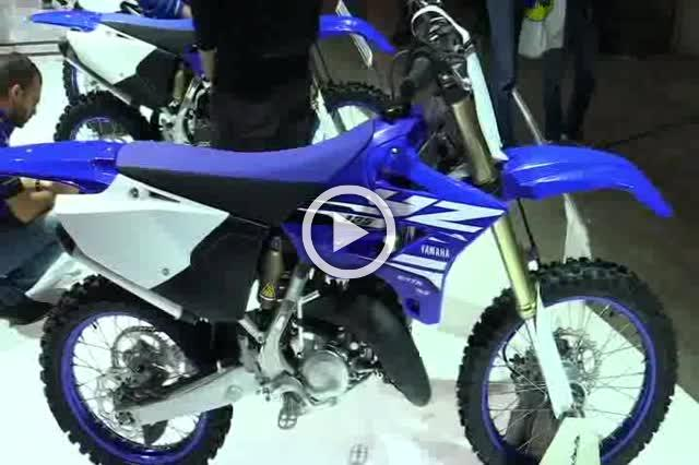 Yamaha YZ125 Walkaround Motorcycle Exhibition