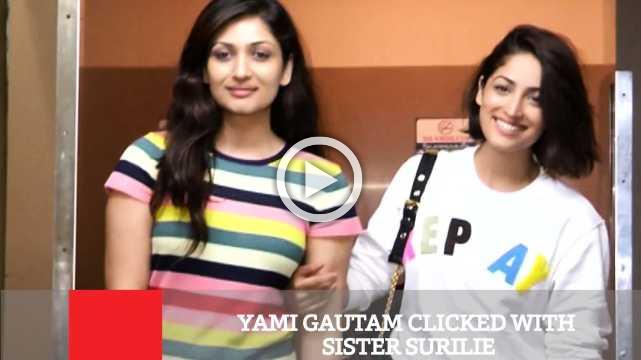 Yami Gautam Clicked With Sister Surilie