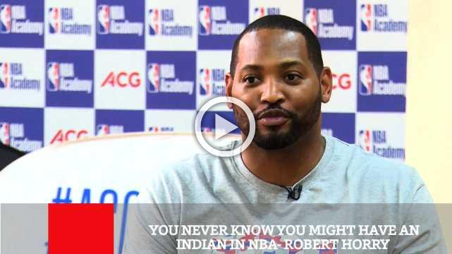 You Never Know You Might Have An Indian In Nba- Robert Horry