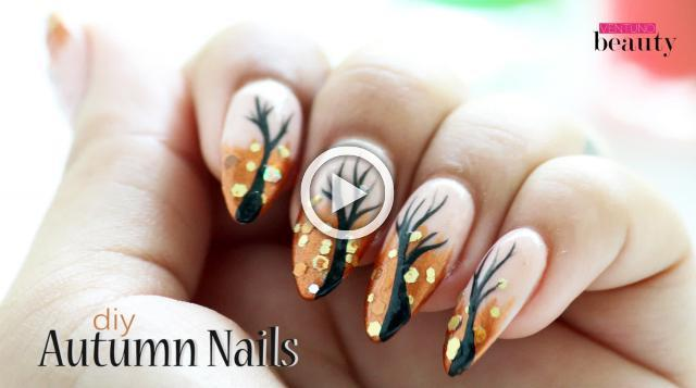 DIY Autumn Nails