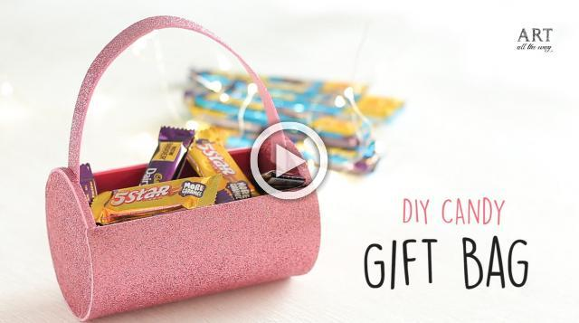 DIY Candy Gift Bag