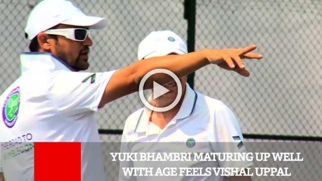 Yuki Bhambri Maturing Up Well With Age Feels Vishal Uppal