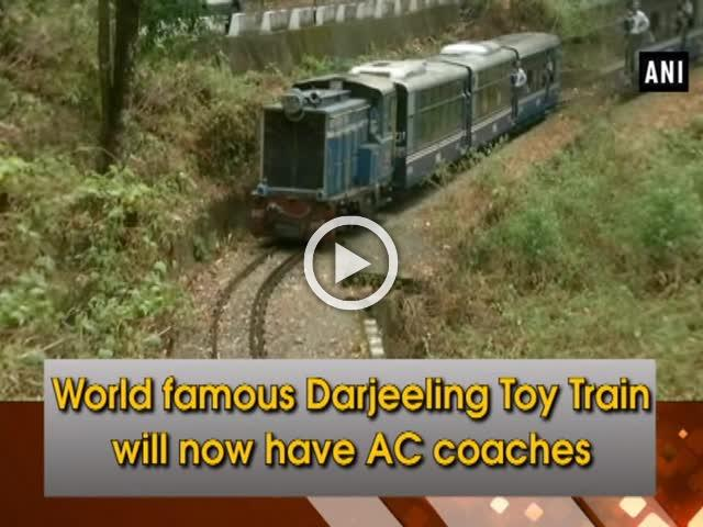 World Famous Darjeeling Toy Train Will Now Have Ac Coaches