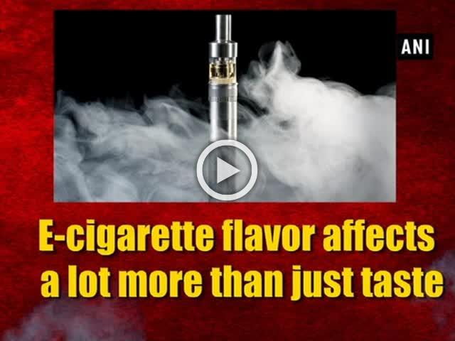 E-cigarette flavor affects a lot more than just taste