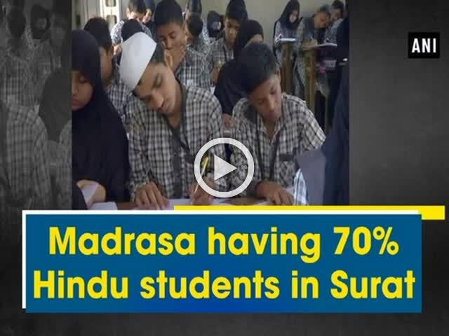 Madrasa having 70% Hindu students in Surat
