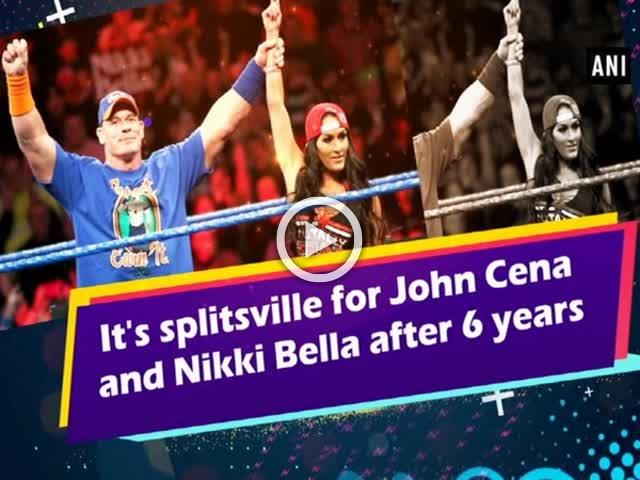 It's splitsville for John Cena and Nikki Bella after 6 years