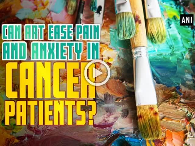 Can art ease pain and anxiety in cancer patients?