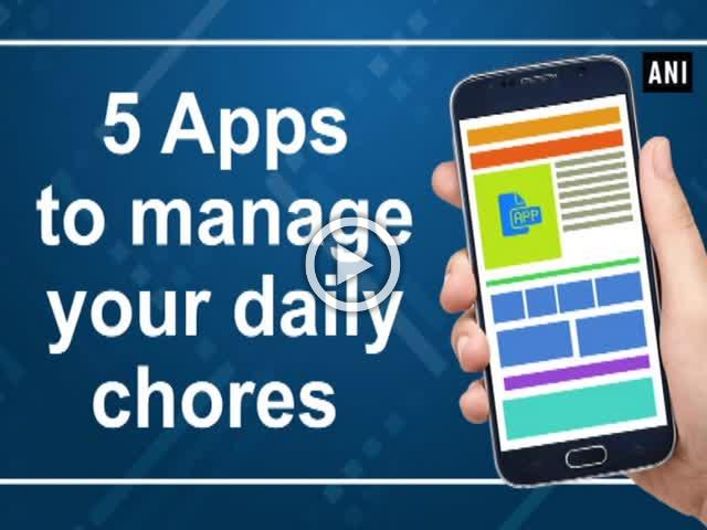 5 Apps to manage your daily chores