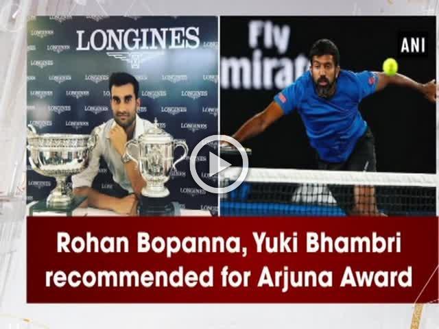 Rohan Bopanna, Yuki Bhambri recommended for Arjuna Award