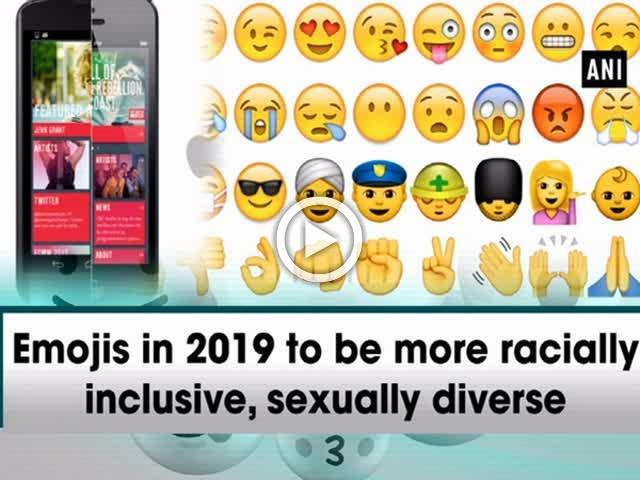 Emojis in 2019 to be more racially inclusive, sexually diverse
