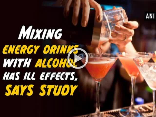 Mixing energy drinks with alcohol has ill effects, says study