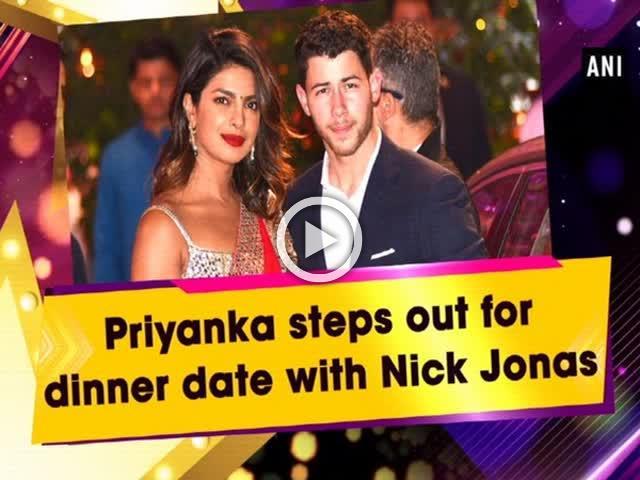 Priyanka steps out for dinner date with Nick Jonas