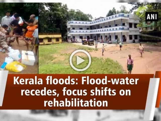 Flood-water recedes, focus shifts on rehabilitation