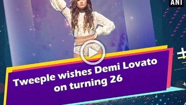 Tweeple wishes Demi Lovato on turning 26