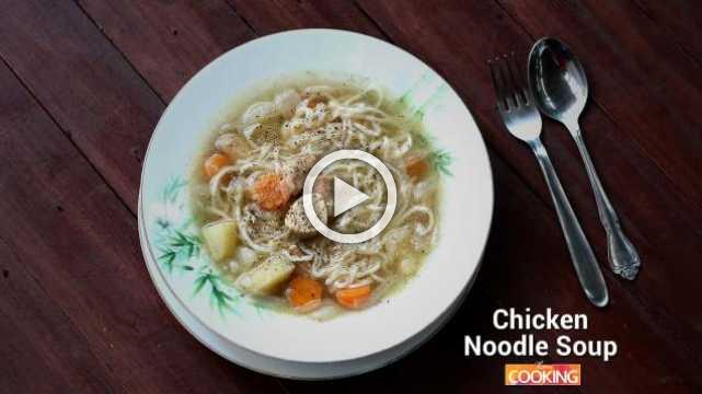 Chicken Noodle Soup | Ventuno Home Cooking