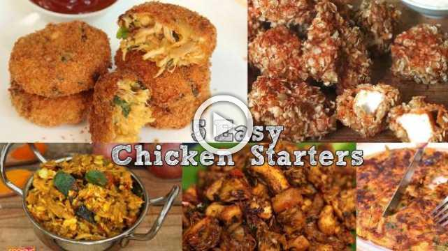 5 Easy Chicken Starters | Ventuno Home Cooking