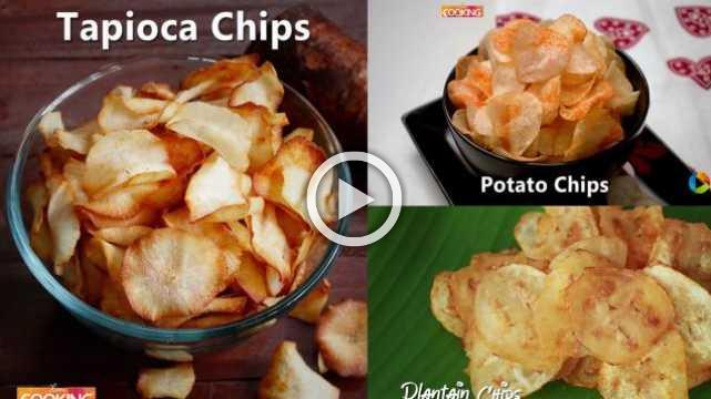 Homemade Chips Recipes | Ventuno Home Cooking