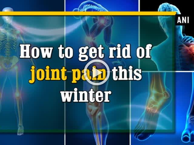 How to get rid of joint pain this winter