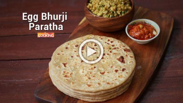Egg Bhurji Paratha | Ventuno Home Cooking