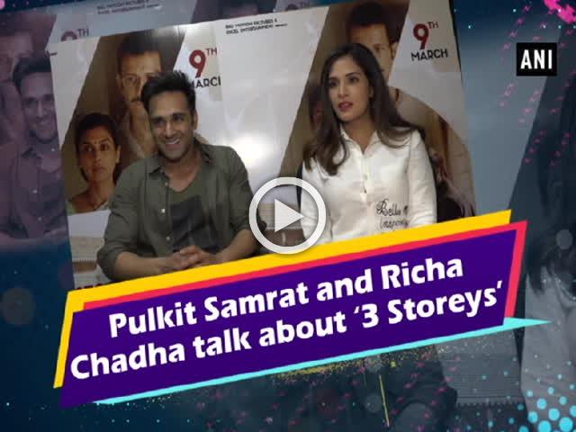 Pulkit Samrat and Richa Chadha talk about '3 Storeys'