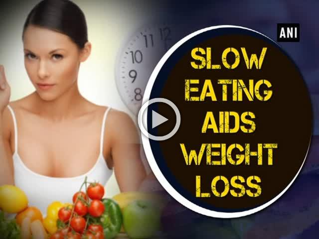 Slow eating aids weight loss