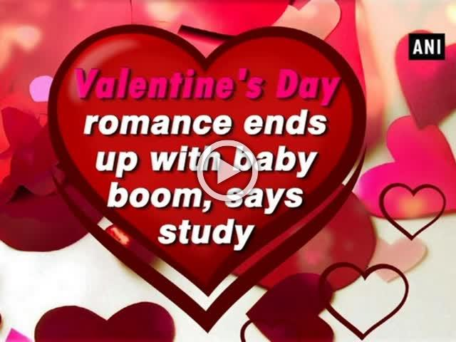 Valentine's Day romance ends up with baby boom, says study