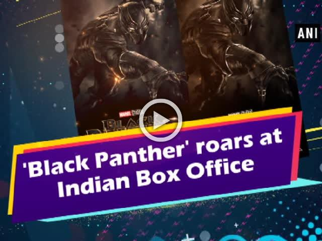 'Black Panther' roars at Indian Box Office
